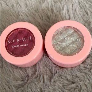 Ace Beautē Glimmer Eyeshadow Duo - NEW!